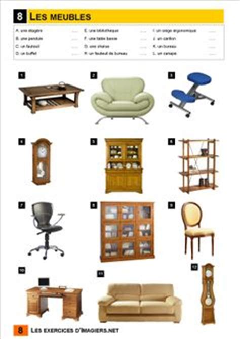 1000 images about la maison et les meubles house furniture vocab on fle