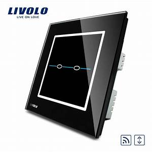 Livolo Uk Standard Crystal Glass Panel  Ac 220 250v  Vl