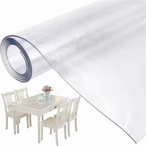 Schutz Tischdecke Transparent : schutz tischdecke tischschutz tischfolie 2 0 mm dick transparent 200 x 100 cm ebay ~ Eleganceandgraceweddings.com Haus und Dekorationen