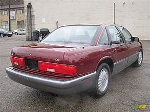 Medium Garnet Red Metallic 1996 Buick Regal Gran Sport