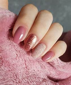 Most Gorgeous Glitter and Pink Wedding Nail Art Designs ...