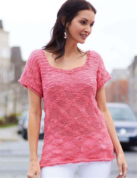 Tops Tanks Tees Knitting Patterns In The Loop Knitting
