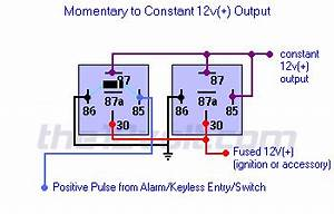 Latched Output - Momentary To Constant Output