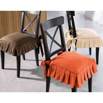galette de chaise avec volant table rabattable cuisine galette de chaise volantee