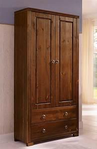 Schrank 2 Türig : schrank stauraumschrank 2 t rig kiefer massiv kolonial 80cm neu vitrinen stauraumschr nke ~ Eleganceandgraceweddings.com Haus und Dekorationen