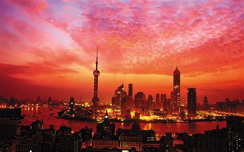 city sunset wallpaper gallery