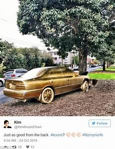 Dumped Toyota Camry Sedan Turned Into Work Of Art With