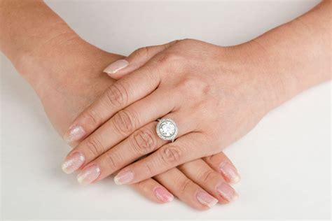diamond gallery engagement ring estate diamond jewelry