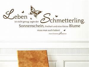Bedeutung Schmetterling In Der Wohnung : wandtattoo sagte der schmetterling bei ~ Watch28wear.com Haus und Dekorationen