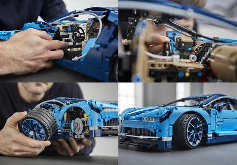 Lego Technic Launches $599 Bugatti Chiron Torque