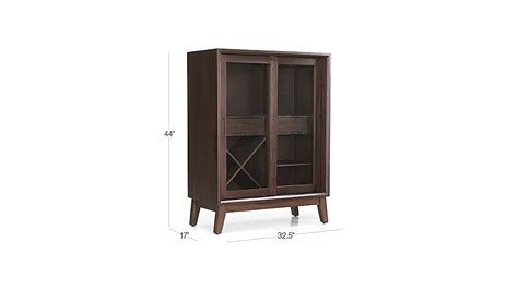 steppe bar cabinet crate and barrel