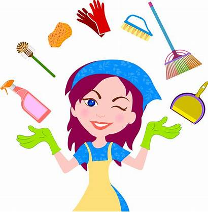 Clipart Cleaner Cleaning Clean Housekeeping Maid Service
