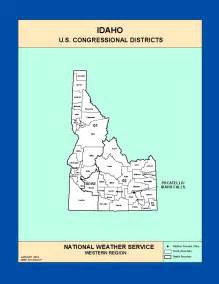 Idaho State Congressional District Map