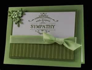 Sympathy Card Idea
