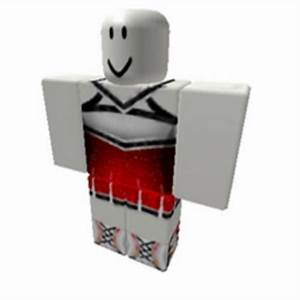 Girls Red Cheerleading Outfit - Roblox