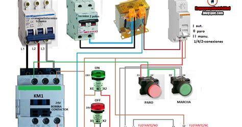 conectar bomba de agua  presostato  contactor foroelectricidad wwwdownload appco