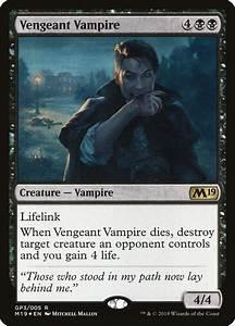 Vengeant Vampire  U00b7 M19 Gift Pack  G18   Gp3  U00b7 Scryfall