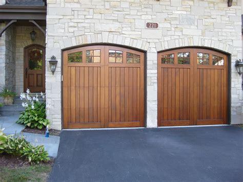 deciding  refinishing wood garage doors  milky