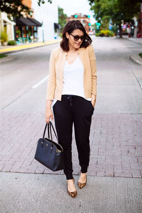 How to Pull Off Jogger Pants at the Office u2013 Glam Radar
