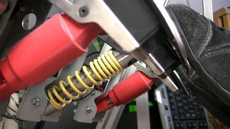 logitech g25 g27 arc brake pedal modification reviewed
