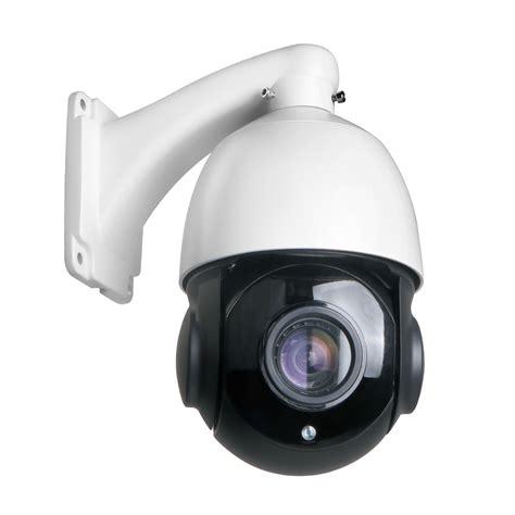 30X Zoom PTZ IP Camera 4MP Pan Tilt Outdoor Security