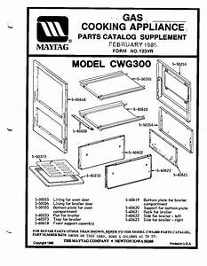 Maytag Gas Oven Parts