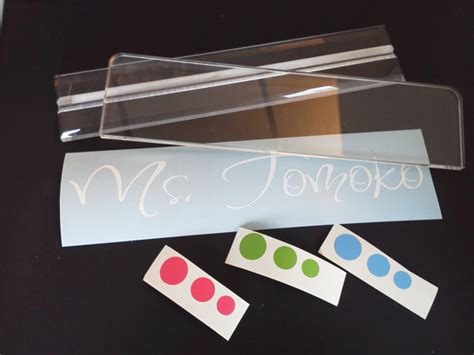 acrylic desk name plates items similar to sale personalized best gift acrylic desk