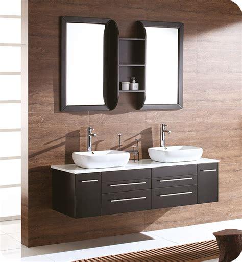 kitchen cabinets in bathroom fresca fvn6119es bellezza 59 quot espresso modern 6119