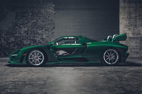 First Mclaren Senna Delivered To Us, Gets Mso Treatment