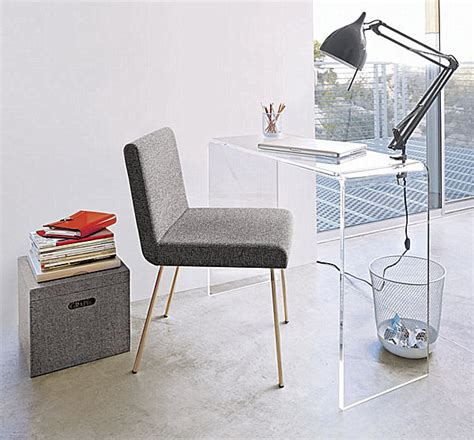 clear acrylic lap desk acrylic home office desks for a clearly fabulous work space
