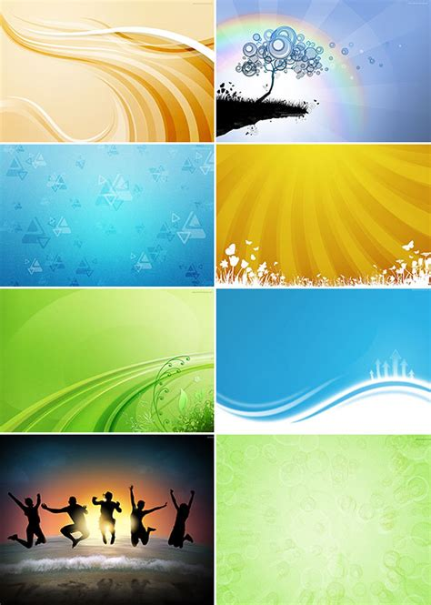 Abstract Background Set 2 Free Psd Files