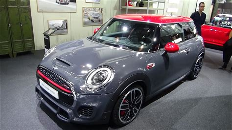 2017 Mini Jcw by 2017 Mini Cooper Works Hatch Exterior And Interior