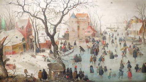 File:Winter Landscape with Ice Skaters by Hendrick ...