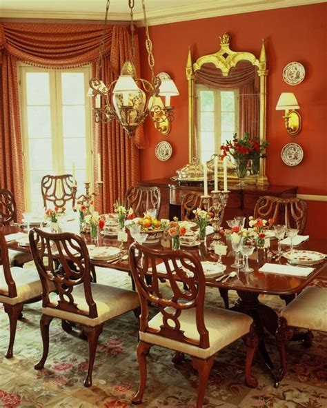 english style estate traditional dining room los