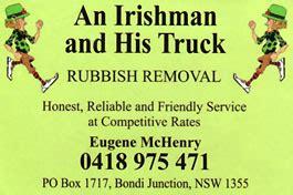 irishman  truck coogee  west north shore
