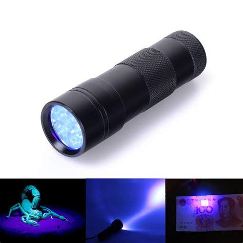 led black light high quality black mini uv ultra violet blacklight 9 led
