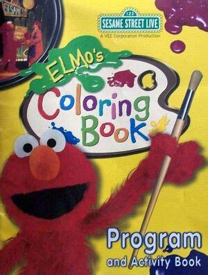 elmos coloring book muppet wiki