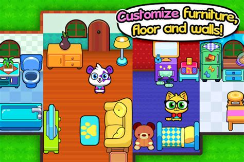 forest folks cute pet home design game  mod apk