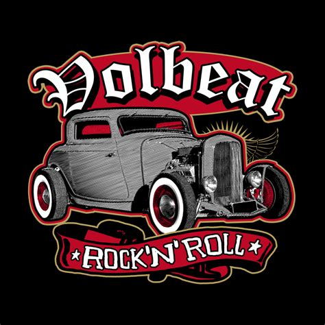 Volbeat Online Store  Rock N Roll  Volbeat  Girlie Tank