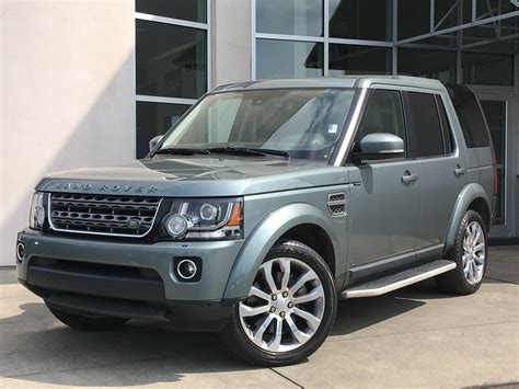 certified pre owned  land rover lr hse sport utility