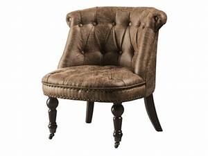 Fauteuil Crapaud Cuir : fauteuil crapaud simili aspect cuir vieilli narcisa ~ Teatrodelosmanantiales.com Idées de Décoration