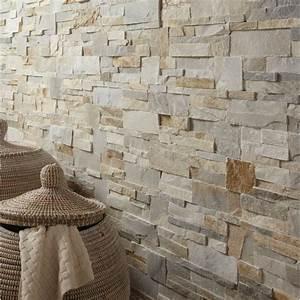 Papier Peint Imitation Pierre Naturelle : parement pierre naturelle 4 angles ~ Nature-et-papiers.com Idées de Décoration