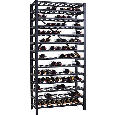 metal wine rack free standing metal wine rack 126 bottle wine enthusiast