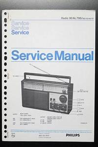 Philips Radio 90al795 Original Service Manual  Instruction
