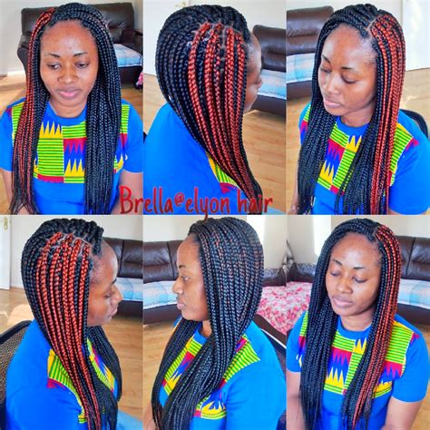 medium box braids with color medium box braids with xpression hair color 1 and 350