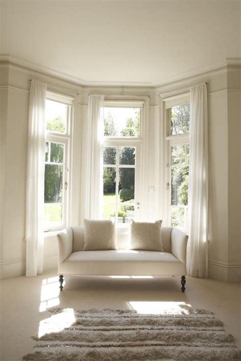 bay window rods with bay window curtain pole kit with corner window curtain l 39 de bien meubler aménager et décorer une propriété