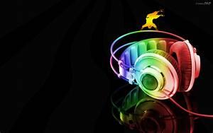 3D Music HD Wallpaper