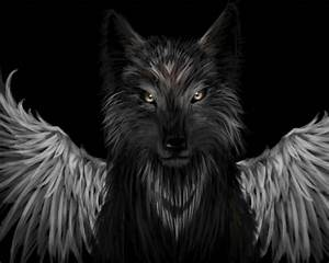 Wolf with wings | With Wings in 2019 | Wolf, Wolf tattoos ...
