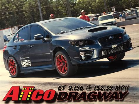 fastest subaru wrx world 39 s quickest fastest 2015 subaru sti 9 13 152 33mph