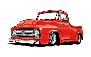 1955 Ford Truck Clip Art